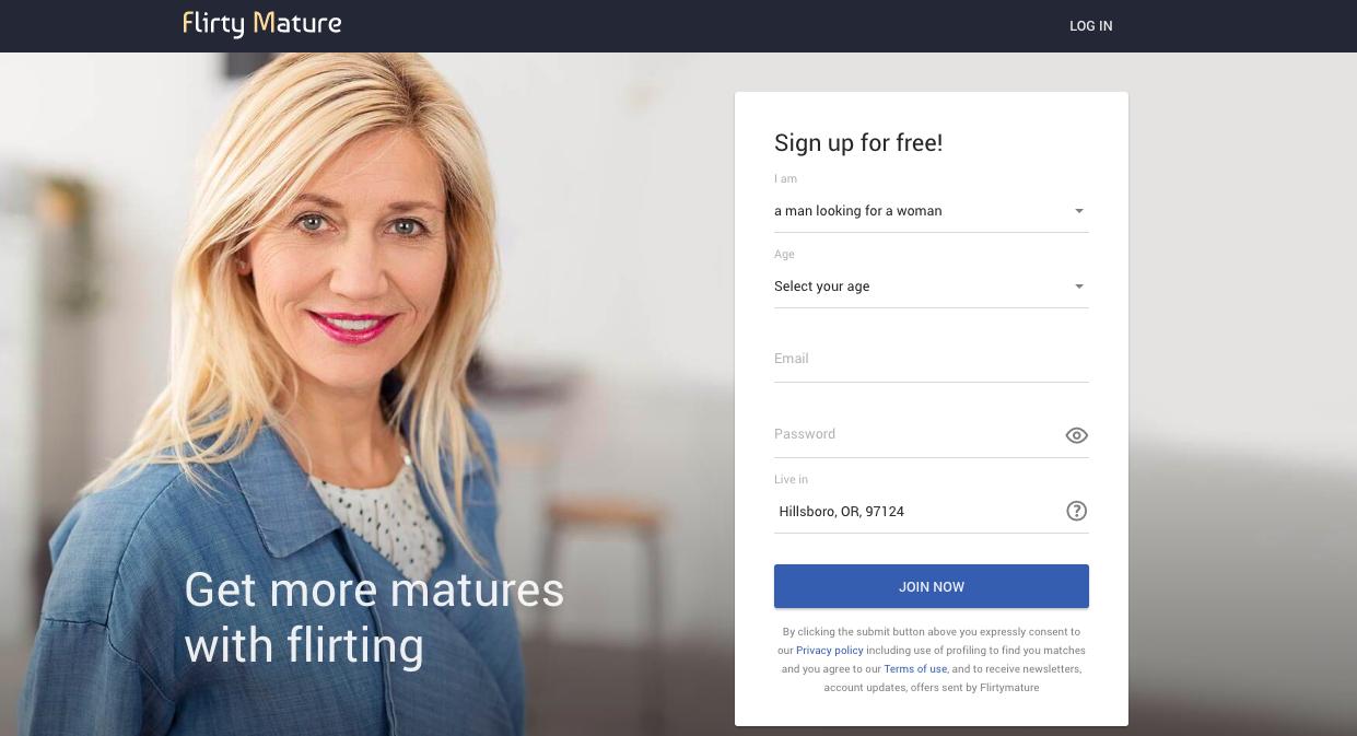 main page FlirtyMature